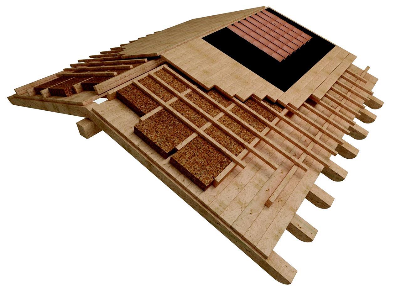Il tetto ventilato for Montaggio tetto in legno ventilato